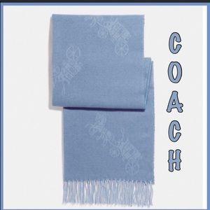 Coach Scarf with fringe